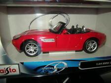 1:24 MAISTO BMW z8 rouge/red OVP