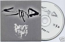STAIND Price To Play UK 2003 1-track promo CD