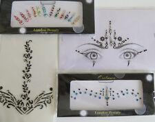 BOLLYWOOD BINDI DESIGNER HEAD STICKER GEM BODY TATTOOS ART BRIDAL CRAFT TIKKA