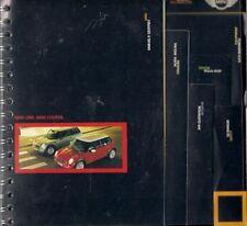 Mini Hatchback 2001 Spiral Bound UK Market Sales Brochure One Cooper