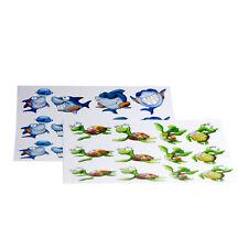 KAi der Hai Aufkleber, für Kinder, versch. Farben, bunte Motive, NEU&OVP