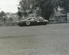 Vintage 8 X 10 Auto Racing Photo 1964 Sebring Wrecked Volvo P1800