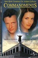 COMMANDMENTS (1999) VHS Universal 1a Ed. RARA