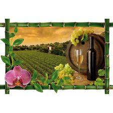 Sticker Bambou déco vignes960
