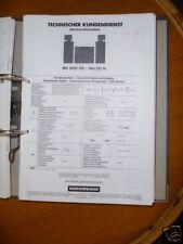 Service-Manual NordMende MS 5000 CD HiFi-SystemORIGINAL