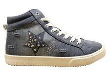 Liu Jo Girl L3A4 00079 Jeans Polacchine Scarpe Donna Calzature Casual