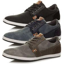 Con cordones para hombre Flat Casual contraste Plimsoles Low Top de Superdry Bombas Zapatos Talla