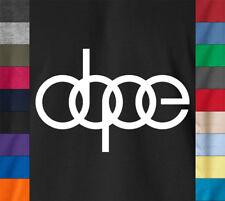 DOPE Hip Hop T-Shirt Swag Swagger MTV Rap Mac Miller Concert 100% Ringspun Tee