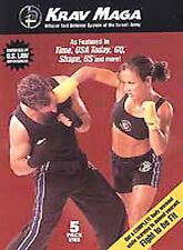 Krav Maga 5 DVD Set  Self Defense Israeli Training Fighting Levine Yanilov
