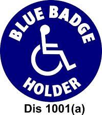 Blue Badge Holder