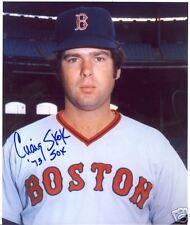 CRAIG  SKOK  BOSTON  RED SOX 73   SIGNED 8X10