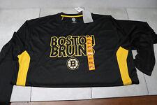 Boston Bruins NHL Long Sleeve Slim Fit Athletic T-Shirt Adult S M L XL XXL Men's