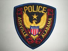 ASHVILLE, ALABAMA POLICE DEPARTMENT PATCH