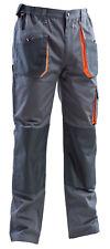 Pantalones Hombre de Trabajo Cargo Multibolsillos Bolsillos