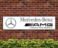BANPN00061 Mercedes Benz AMG PVC Banner Garage Workshop Sign