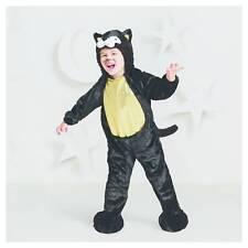 Hyde & Eek Black Cat Plush Costume Halloween Dress Up Play Jumpsuit Toddler