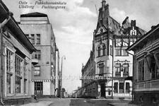 Photo. 1914. Oulu, Finland. Packhusgatan Street