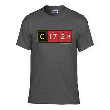 Cessna 172 Airport Taxiway Sign Aviation T-Shirt! Pilot Shirts! Pilot Gifts!