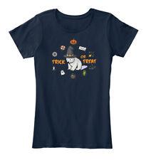 Halloween Polar Bear - Boo Trick Or Treat Women's Premium Tee T-Shirt