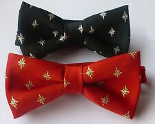 STELLA di Natale pronti legato CRAVATTE UK fabbricato