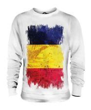 Tchad Drapeau Grunge Unisexe Pull Tè ? D Tchadien Tchad T-Shirt Football