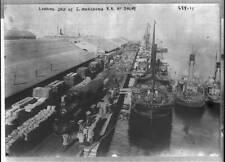 Photo Loading ships S. Manchuria R.R. at Dalny