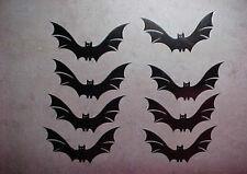 Fledermaus Aufkleber Fensterbild Wandtattoo Halloween Sticker 8 Stück