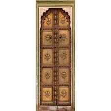 Sticker vielle porte orientale trompe l'oeil 517