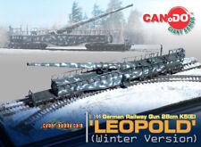 Dragon Can.Do Cyber Hobby 1/144 Scale WWII German Winter Leopold Railway Gun