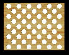 50 Poker Chip Display Frame Insert Fits Both Casino/Harley Davidson Chips