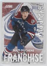 2010-11 Score Franchise #8 Matt Duchene Colorado Avalanche Hockey Card