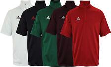 Adidas Men's Game Built Short Sleeve Quarter Zip Top, Color Options