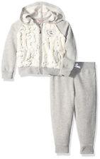 Juicy Couture Infant Girls 2pc Fleece With Faux Fur Pants Set Size 12M 18M 24M
