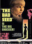 THE BAD SEED/Nancy Kelly, Patty McCormack/NEW DVD/BUY ANY 4 ITEMS SHIP FREE