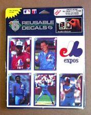 Montreal Expos HIGH-5 Reusable Decal Set of 6 1992