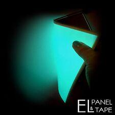 A5 size - EL Panel (15cm x 21cm) - Electroluminescent Sheet, Glowing Foil paper