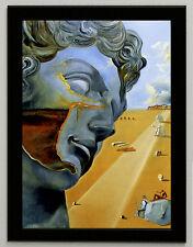 Salvador Dali Miguel Angel canvas print, framed, giclee 6.8X8.8&10X13,6