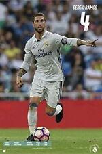 90992 REAL MADRID SPORTS SERGIO RAMOS Decor WALL PRINT POSTER CA
