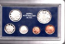 1980 Australian Proof Set With Foam Case