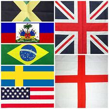 Flag Bandanna Head Wear Bands Scarf Neck Wrist Wrap Buy Various Flags