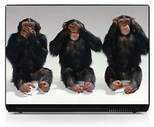 Sticker pc portable autocollant Chimpanzé réf 148