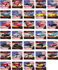 Mauspad mit Motiv: Ford USA Auto Modelle Car Mousepad Handauflage Teil 1 von 2