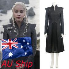 Cosplay Game of Thrones Season 7 Daenerys Targaryen Mother of Dragons Costume