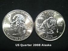 US State Quarter 2008 Alaska  (P)