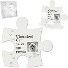 Jigsaw Wall Art Plaque Photo Frame Home Collection Decor Cat Dog Pet Designs