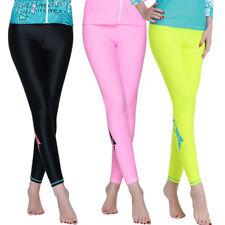 Woman UV Rash Guard Pants Swim Surfing Lycra Leggings Yoga Pants Swimwear Tights