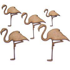 Flamingo Craft Shape. Various Sizes 40mm - 200mm. 2mm MDF. Bird, Animal