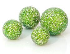 Deko Kugel Mosaik grün Glas Schwimmkugel Dekoration Teich Tischdeko  Schale