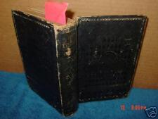 Vintage,Book,Bible,New Testament,Henry Bill,Bookmark