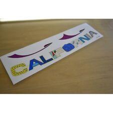 CALIFORNIA Motorhome Side/Bonnet Sticker Decal Graphic - SINGLE/PAIR/SET